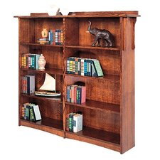 "<strong>Anthony Lauren</strong> Craftsman Home Office 63"" Bookcase"