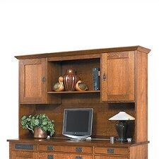 """Office Credenza 45.5"""" H x 73"""" W Desk Hutch"""