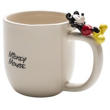 <strong>Zak!</strong> Mickey Ceramic Mug with Figurine