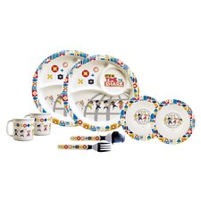 Small World 4 Piece Place Setting (Set of 2)