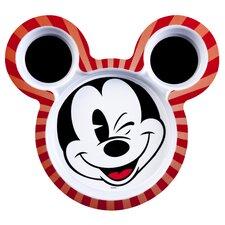 "Mickey 8.5"" Shaped Plate (Set of 2)"