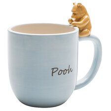 Winnie the Pooh Ceramic Mug with Figurine