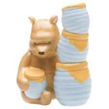 Winnie the Pooh Ceramic Salt and Pepper Shakers