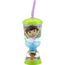 Nickelodeon Dora the Explorer Fun Floats Sipper