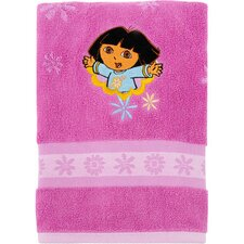 Nickelodeon Dora the Explorer Embroidered Hand Towel