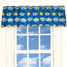 "Nickelodeon SpongeBob Square Pants Sea Adventure 84"" Curtain Valance"