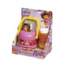 Nickelodeon Dora the Explorer No-Spill Mini Bubble Bucket