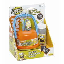 Nickelodeon SpongeBob SquarePants No-Spill Bubble Bucket Pack