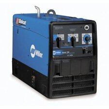 <strong>Miller Electric Mfg Co</strong> Bobcat 250 Generator Welder 250A with 23HP Kohler Engine, Battery Charger and GFCI Receptacles