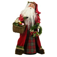English Countryside Santa Figurine