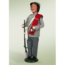 Confederate Soldier Figurine