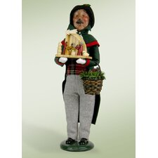 African American Decorating Man Figurine
