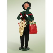 Grandfather Shopper Figurine