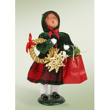 Girl Shopper Figurine