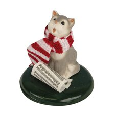 <strong>Byers' Choice</strong> Grey and White Cat Figurine