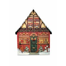 <strong>Byers' Choice</strong> Christmas House Advent Calendar