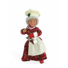 Baking Mrs. Claus Figurine