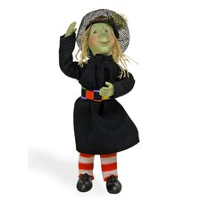 Green Witch Hazel Kindle Figurine