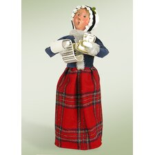 Caroling Woman Figurine