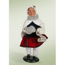 Caroling Girl Figurine