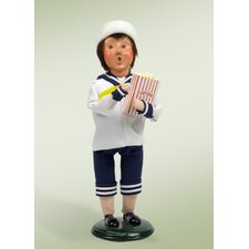 Popcorn Family Boy Figurine