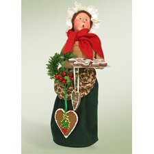 Woman Selling Gingerbread Figurine