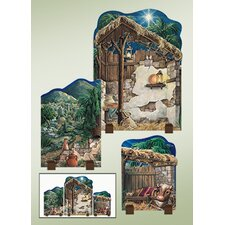 Nativity Backdrops Figurine
