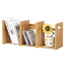 Bamboo Multimedia Extesion Book Rack