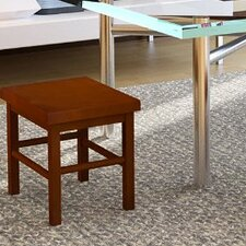Pine Solid Wood Square Stool