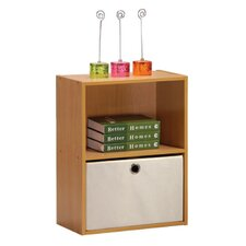 <strong>Furinno</strong> Click-N-Easy Tiada 1 Shelf Bookcase