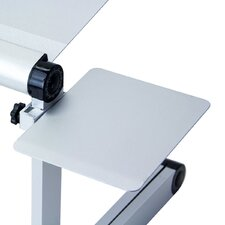 Mousepad Attachable to Aluminum Folding Laptop Notebook Stand