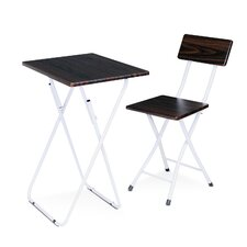 Space Saving Study Desk and Chair Set