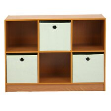 "Multipurpose Storage 23.7"" Bookcase"