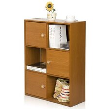 PASiR 3 Tier Shelf with 3 Door and Round Handle