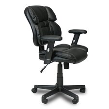 <strong>Furinno</strong> Hidup Mid-Back Leather Executive Chair