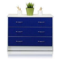 Click-N-Easy 3 Drawer Chest