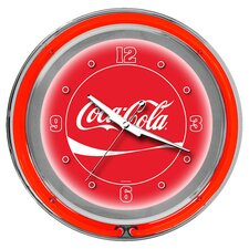"<strong>Trademark Global</strong> Coca Cola 14.5"" Wall Clock"