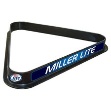 Miller Lite Billiard Ball Triangle Rack
