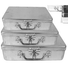 3 Piece Storage Box (Set of 3)