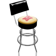 Miller High Life Bar Stool with Cushion
