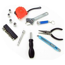 22 Piece Deluxe Household Utility Tool Set