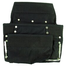 Professional Grade Black 8 Pocket Tool Bag