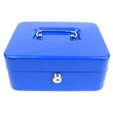 <strong>Trademark Global</strong> Key Lock Cash Box