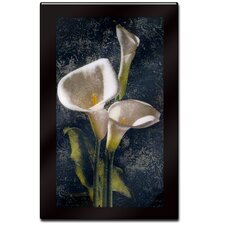 "<strong>Trademark Global</strong> Callas by John Seba, Laminated Wall Ready Art - 30"" x 26"""