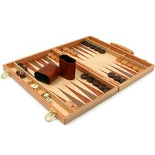 <strong>Trademark Global</strong> Deluxe Wooden Backgammon Set