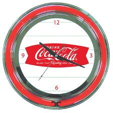 "<strong>Trademark Global</strong> Coca Cola 14.5"" Refreshing Feeling Wall Clock"