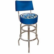 United States Air Force Padded Bar Stool with Back