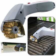 Barbeque Grill Motorized Cleaning Brush