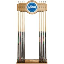 Bud Light Billiard Cue Rack in Blue