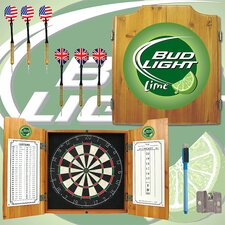 <strong>Trademark Global</strong> Bud Light Dart Cabinet in Lime